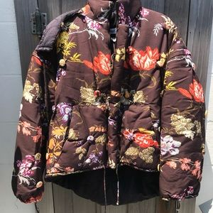 Rosie Assoulin Floral Pea and the Puffer Jacket